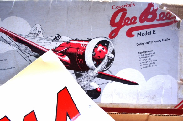 Coverite's Gee Bee Model E Airplane, collectible