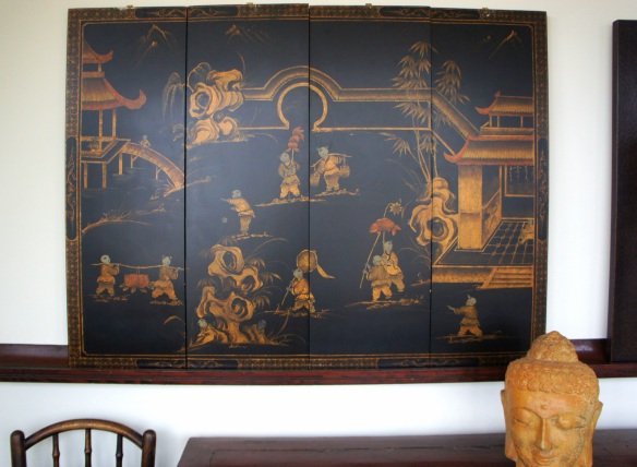 "Asian Four Panel Wall Art47.5"" x 35.5"""