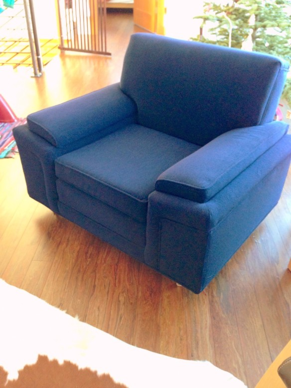 indigo chair