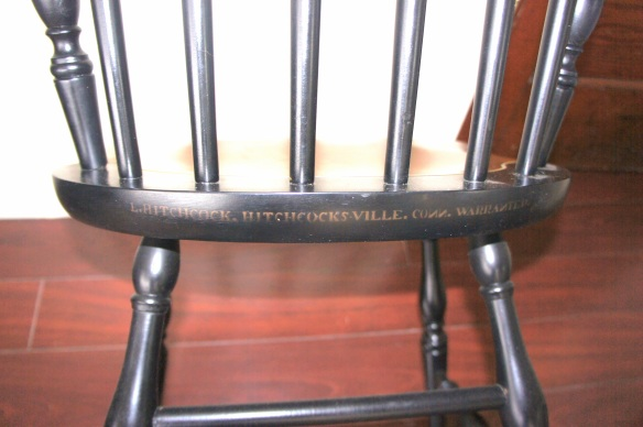 Authentic, Original Stamped L. Hitchcock Chairs